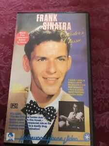 VHS - FRANK SINATRA movie & more - Special Collectors Classic Edition video