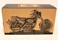 Harley-Davidson Motorcycle XLH Sportster 1200 Pewter Wood Base CIB LTD
