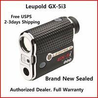 New Leupold GX 5i3 Golf Rangefinder Sealed, Full Warranty Free 2-3 days shipping