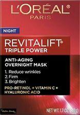 L'Oreal Revitalift Triple Power Intensive Anti-Aging Overnight Mask-1.7oz