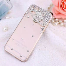 Hot Luxury Bling Clear Crystal Rhinestone Back Case Cover For iPhone5/6 Samsung
