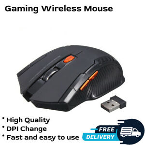 2.4GHz Wireless Mice With USB Receiver Gamer 2000DPI Mouse Computer PC Laptop
