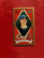 2003 Topps 205 Mini #165 Zack Greinke Kansas City Royals Rookie Card