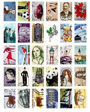 LOT 30 pcs Printed Stamp Postcard of Vintage Retro People Animal Sights Bulk Set