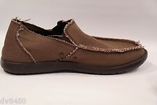 CROCS Men Boulder Colorado 9 M 10128  Espresso  Summer Wear Slip-On Loafer