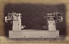 1873 ORIGINAL photo of a Wheel Quartering Machine, William Sellers, Phila.