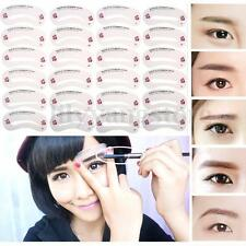 24 Styles Eyebrow Shaping Stencils Grooming Kit  DIY Makeup Shaper Template Tool