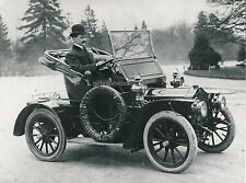 Automobile 1906 - Grand Tirage c. 1960 - V34