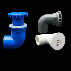 90 Degree Elbow PVC Aquarium Fish Tank Joint Inlet Outlet Fitting ID 20/25/32mm