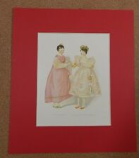 1894 Queen Victoria's Dolls prints .Lady Newport Mlle Leontine  by Alan Wright