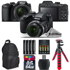 Nikon COOLPIX B500 Camera 40x Optical Zoom + Extra Battery + Backpack -64GB Kit