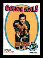 1971 O-Pee-Chee #61 Ernie Hicke  NM/NM+ X1691822