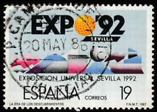 Scott # 2506 - 1987 - ' Geometric Shapes, Expo '92, Seville '