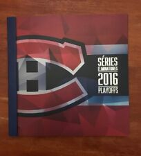 MONTREAL CANADIENS 2016 PLAYOFF SEASON TICKETS BOOKLET & TICKET STUBS COMPLETE