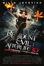 """Resident Evil After Life Regular Two Sided 27""""x40' inches Original Movie Poster"""