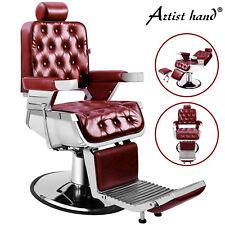 Heavy Duty Barber Chair Vintage Styel Hydraulic Recline Salon Beauty Equipment