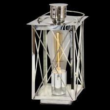 Eglo 49279 Donmington lampada da tavolo/ studio in acciaio cromo/ vetro chiaro