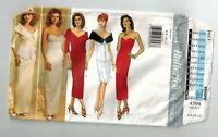 Butterick 4394 Strapless Gown Princess Seams Boning Misses Sizes 6-12 Uncut
