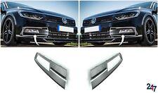 NEW VOLKSWAGEN VW PASSAT B8 2014 - 2018 FRONT BUMPER LOWER GRILL PAIR SET