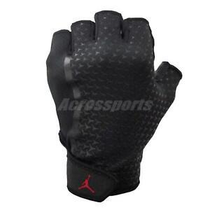 Nike Jordan Lightweight Gloves Athletic Glove Fitness Workout Black J0001945-034