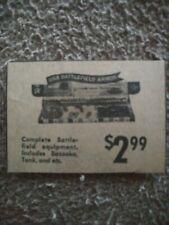 "1963 ""USA Battlefield Armor"" Ad"