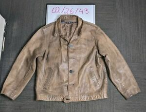 Polo Ralph Lauren Leather Jacket XL
