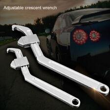 Adjustable Hook Wrench C/Crescent Spanner Tools 35-105mm/95-165mm
