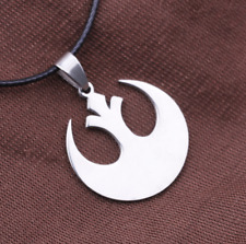 Classic movie star wars Galactic Empire sigh pendant necklace