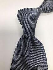 Men's Ralph Lauren Purple Label Silk Blue Checkered Neck Tie Made England 1F6C