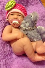 NEW~ Precious Preemie Berenguer La Newborn Doll + Extras,2 pacifiers, bottle