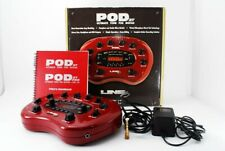 Line6 Pod XT Guitar Multi-Effects Pedal & Power W/Box ACAdapter