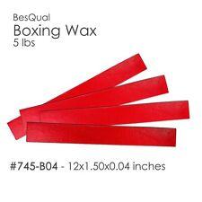 "Dental Meta Boxing Wax Box of 5 lbs (12 x 1.5 x .04) 1/25""  #745-B04"