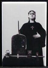 "Aleister Crowley 2"" X 3"" Fridge / Locker Magnet. Occult Black Magic"