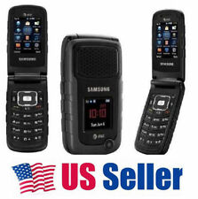 USPS! Samsung Rugby 2 A847 2MP 1300mAh Flip 3G MobilePhone Unlocked Black