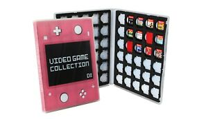Nintendo Switch Lite Cartridge Case, Holds 30 or 60 Video Games - Coral Pink