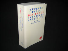 Georges Perec, la vida manual de instrucciones