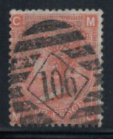 Großbritannien 1865 Mi. 24 Gestempelt 40% 4 Pence, Königin Victoria, C, M.