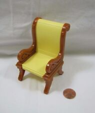 New! FISHER PRICE Loving Family Dollhouse DINING ROOM CHAIR Carved Living Room