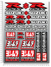 Suzuki GSXR sticker set 29 decals Laminated gsx-r 600 1000 yoshimura k5 k7 L1
