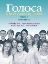 Golosa, Book 2: A Basic Course in Russian 4th Edition Bk. 2