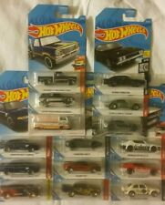 Hot Wheels lot 15 toys diecast cars jdm trucks volkswagen skyline escort benz