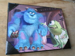 Picture, hard Print   Monsters Incorporated.