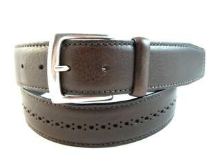 """NEW Allen Edmonds """"BROGUE STREET"""" Casual Belt  #1015644 Size 38  Brown USA(538)"""