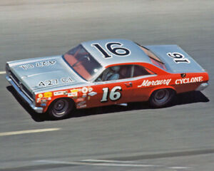 1967 Mercury Cyclone BOBBY ALLISON 16 Glossy 8x10 Photo Daytona 500 Poster Print