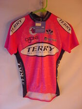 NWT Terry Pink Women's Cycling Jersey Voler Race Raglan - Size Small