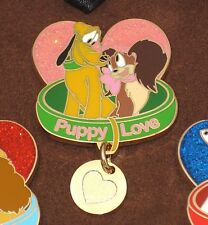 New LE 250 Disney Pin✿Love is Magical PLUTO FIFI ONLY from Boxed Set Puppy Dog