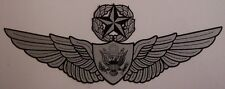 Window Bumper Sticker Military Army Enlisted Man Master Aircrew Wings NEW Decal