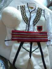 Albanian traditional costume folk handmade for boys 3-4 years old