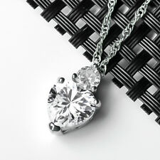 925 Silber Anhänger Kristall Herz Zirkonia Engelsrufer Engel Ketten AAA Zirkonia