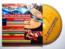 CD SINGLE B.O. FILM ▓ T.G.M. : VIENS VIENS A JUAN LES PINS ( BANATAGE REMIX )